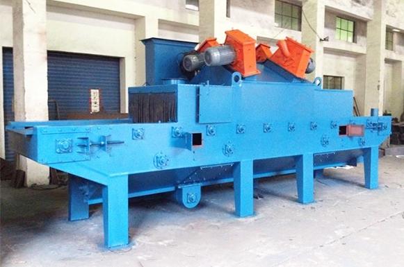 抛丸机设备中的铸铁件有什么作用?